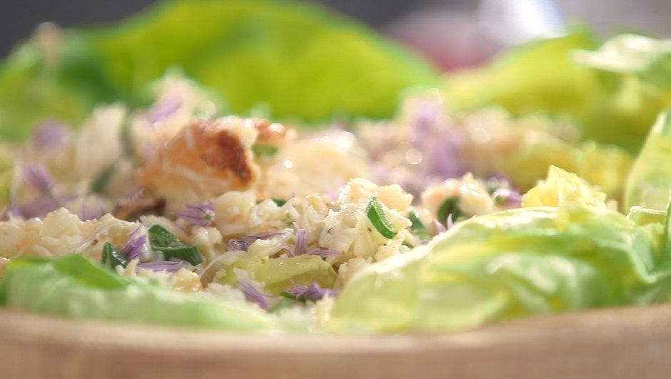 Salade de tourteau