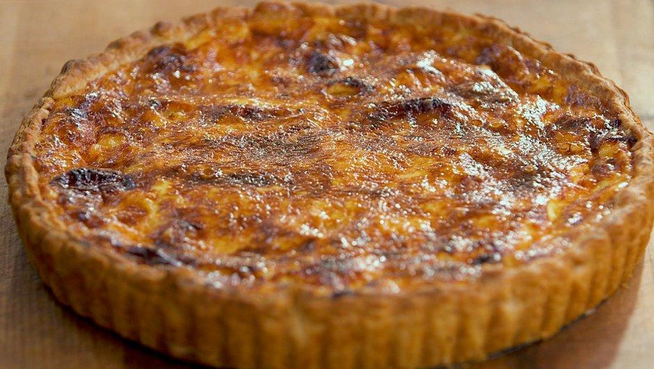 recette tarte l 39 ail confit petits plats en equilibre tf1