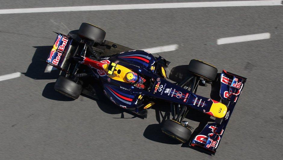 F1 - GP de Monaco : Webber conserve sa première place au départ