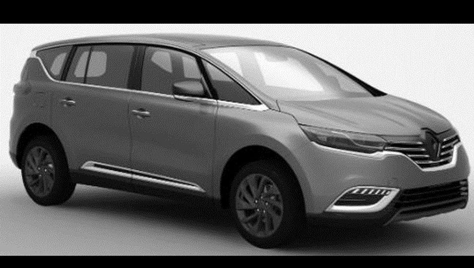 """Nouveau Renault Espace 2015 : """"le successeur"""" du monospace au Mondial de l'Automobile"""
