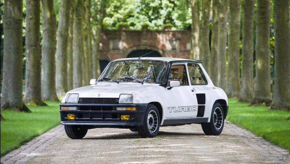 Chantilly : Une Renault 5 Turbo 2 estimée à plus de 65.000 €