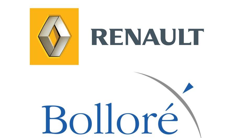 Renault uni à Bolloré pour l'électrique, une future citadine à l'étude
