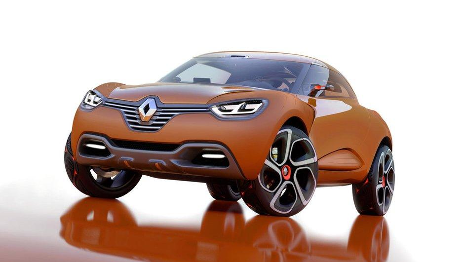 Le concept Renault Captur en route pour le salon de Genève