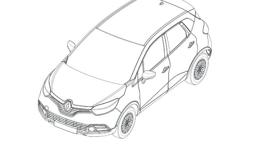 Futur Renault Captur : deux images en fuite du crossover