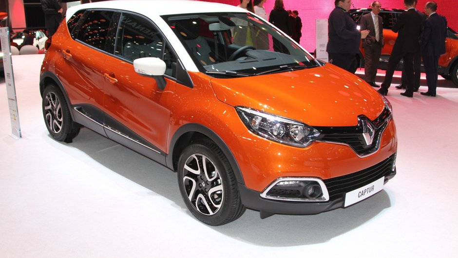 Renault Captur 2013 : prix de départ à 15.550 euros