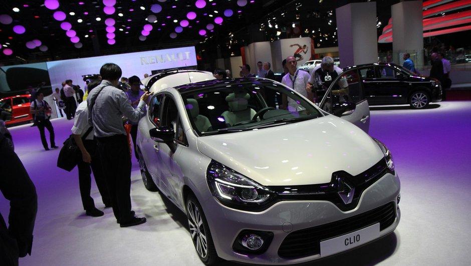 Mondial de l'Automobile 2014: nouvelle Renault Clio Initiale Paris, du chic à la française