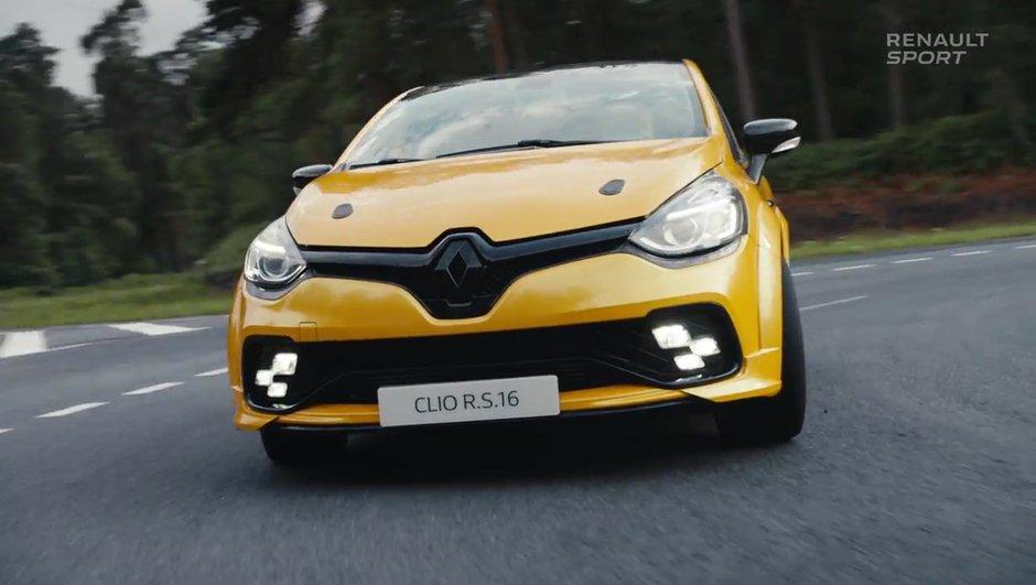 Pas de production confirmée mais une nouvelle vidéo pour la Renault Clio R.S. 16