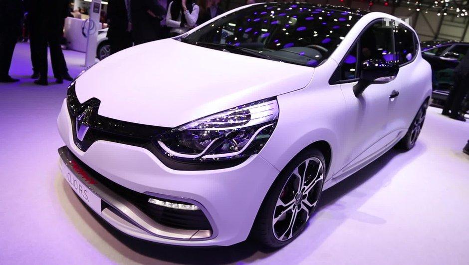 Salon de Genève 2015 : Renault Clio R.S. 220 Trophy, encore plus radicale ! (+ vidéo)