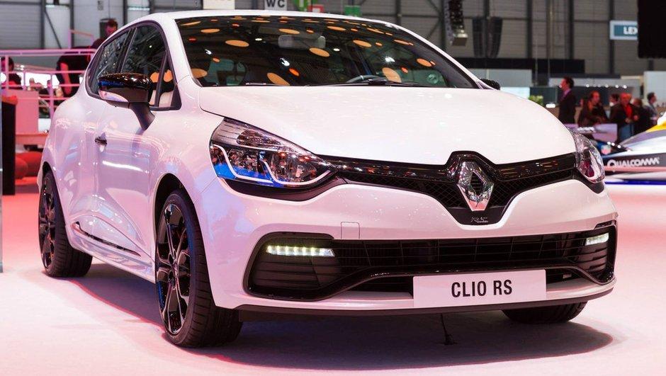 Salon de Genève 2014 : Renault Clio R.S. Monaco GP, maquillage seulement