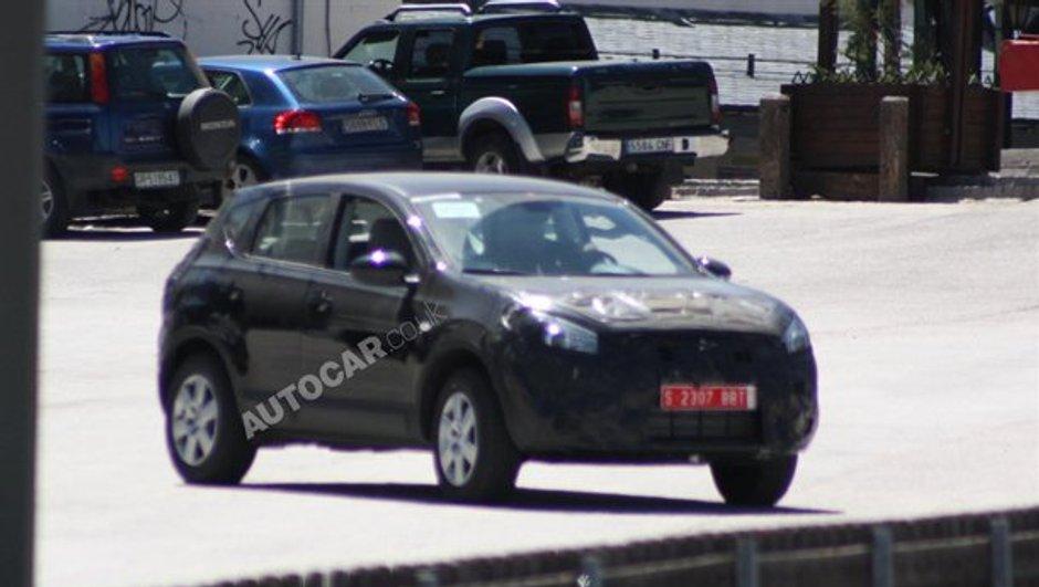 Renault prépare son nouveau crossover avec Nissan