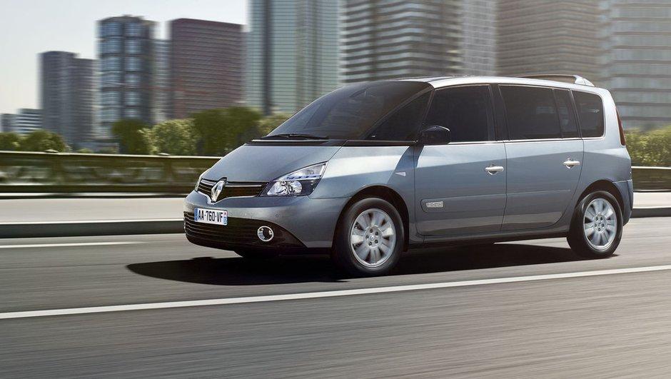 Renault Espace 2012 : restylage limité