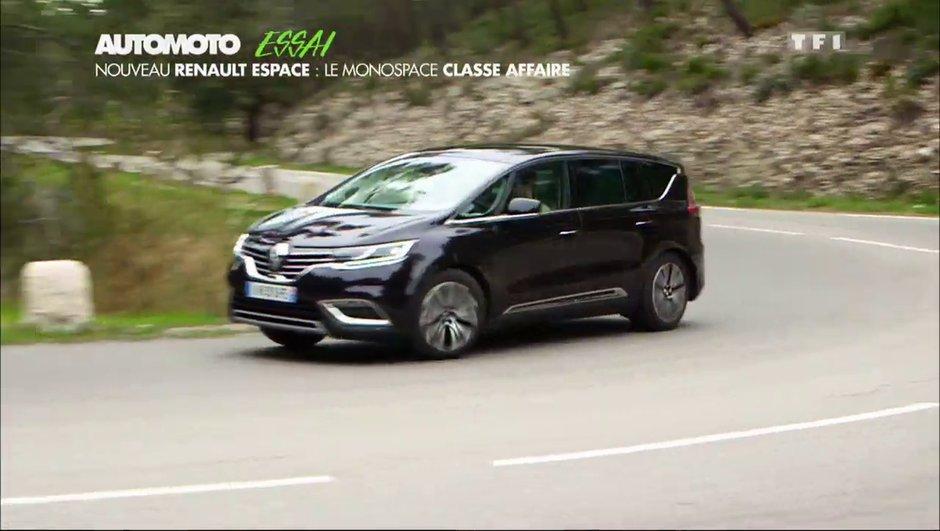 Renault Espace 2015 : le haut de gamme français à l'essai !