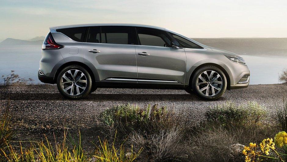 Nouveau Renault Espace 2015 : au revoir monospace, bienvenue crossover