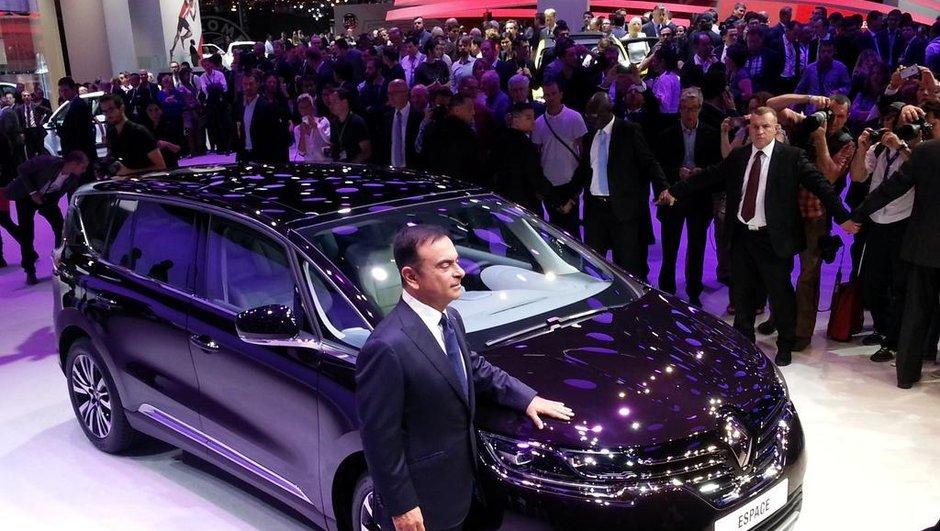 Mondial de l'Automobile 2014 : Renault mise sur le nouvel Espace, désormais crossover