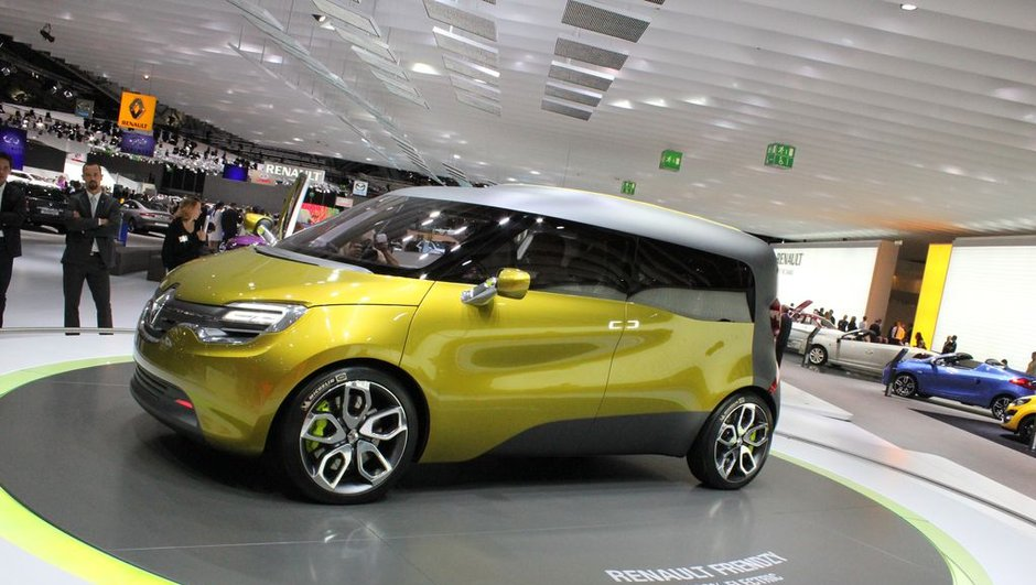 Salon de Francfort 2011 : Renault Frendzy Concept, futur Kangoo ?