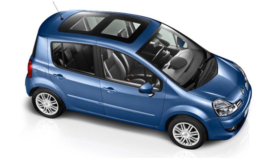 Renault Modus et Grand Modus : nouvelle gamme 2010