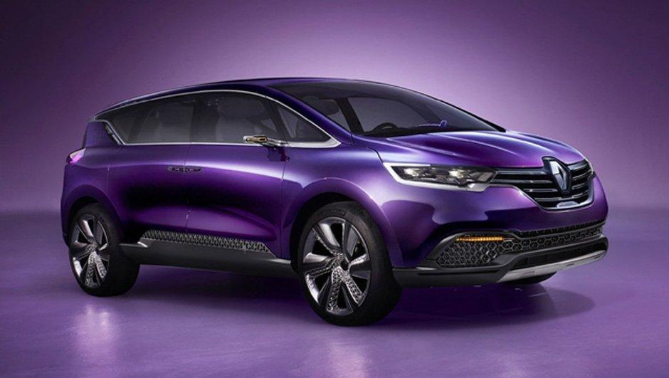 Renault Initiale Paris Concept 2013 : le futur Espace en filigrane