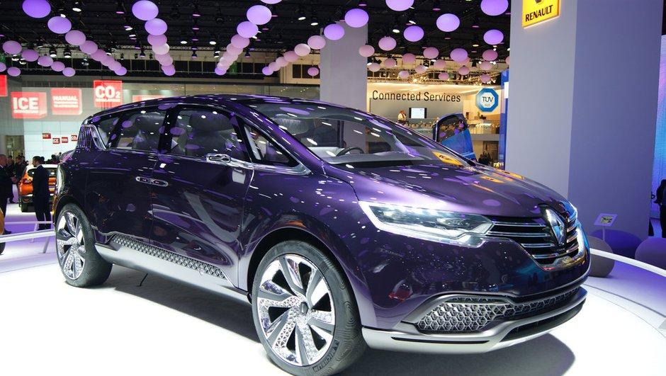 Salon de Francfort 2013 : Renault Initiale Paris, embarquement vers la sérénité