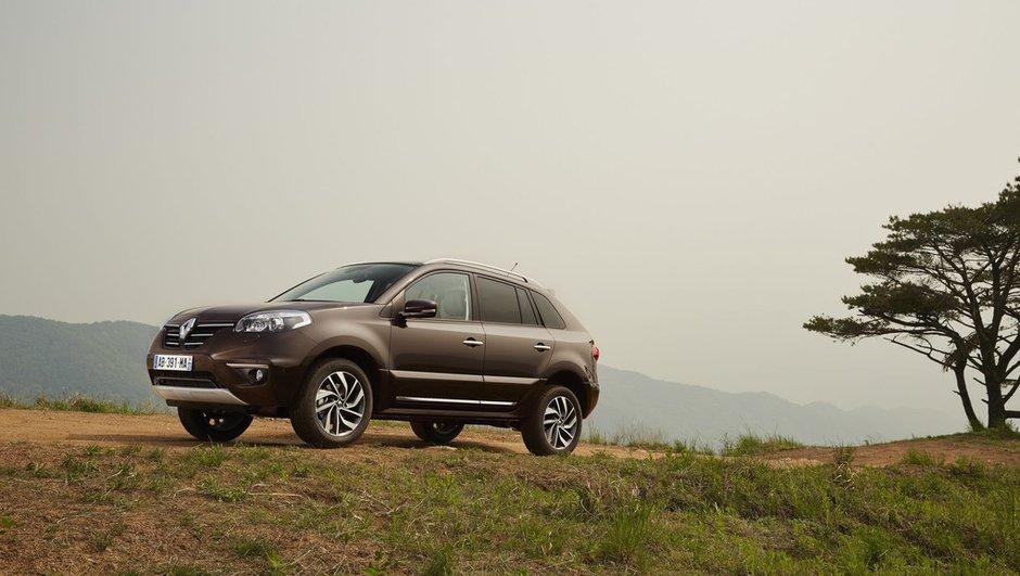 Renault Koleos 2013 : nouveau restylage et R-Link