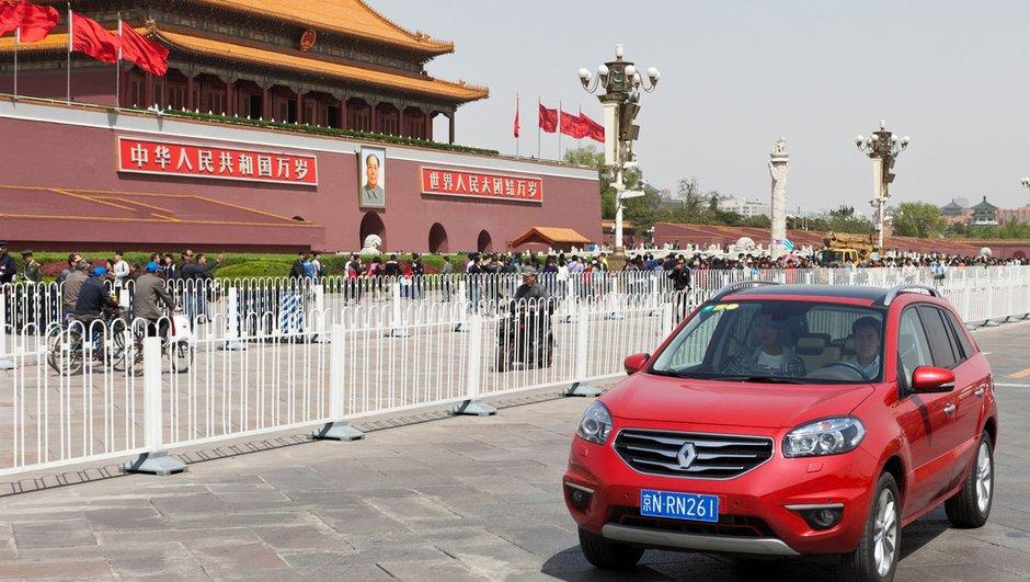 Renault investi en Chine : objectif 200.000 voitures par an