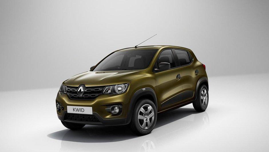 Renault Kwid : départ à 3.500 euros en Inde