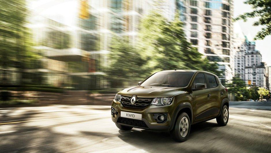 Nouveau Renault Kwid 2015 : un SUV de moins de 5.000 euros pour l'Inde