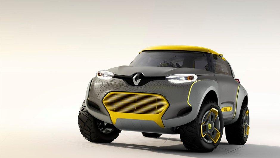 Salon de New Delhi 2014 : Renault Kwid Concept, le SUV des pays émergents