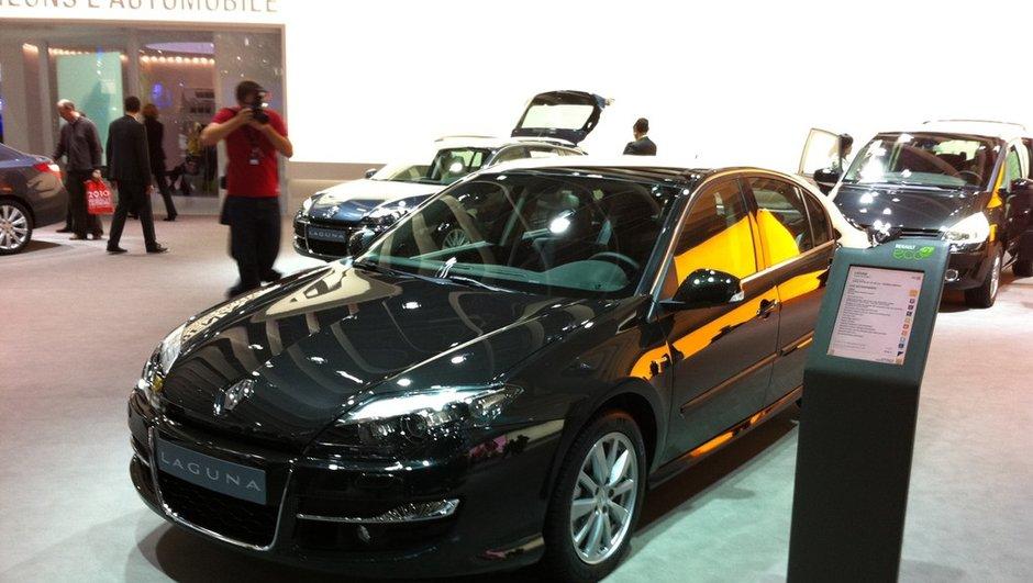 La Renault Laguna muscle son look pour le Mondial de l'Auto