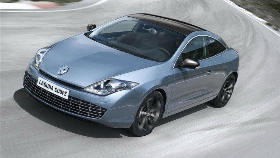 Renault Laguna Coupé : micro-restylage pour le cru 2012