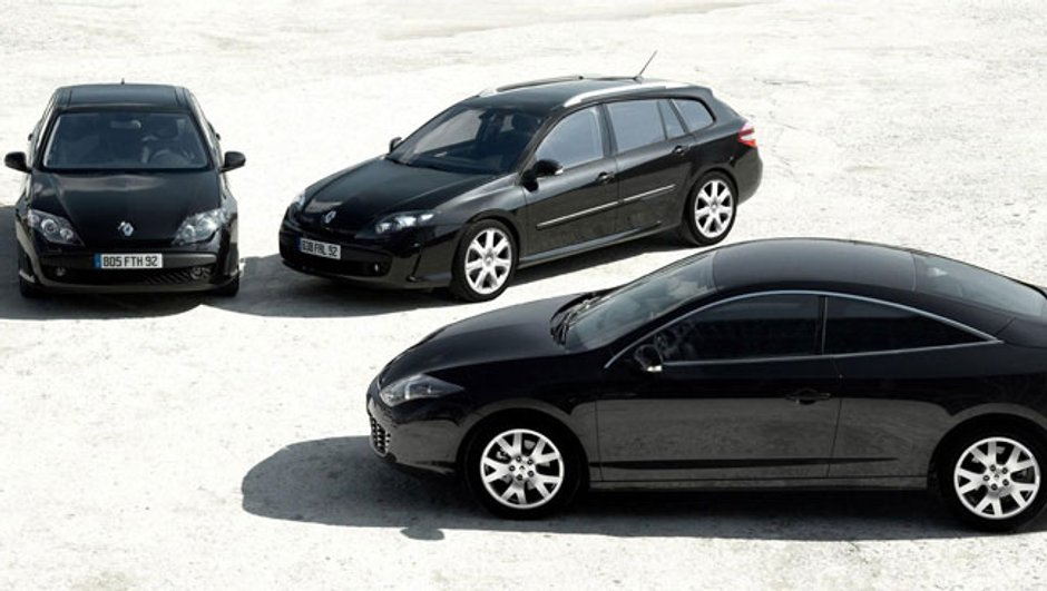 Renault Laguna Black Edition : au tour du coupé !