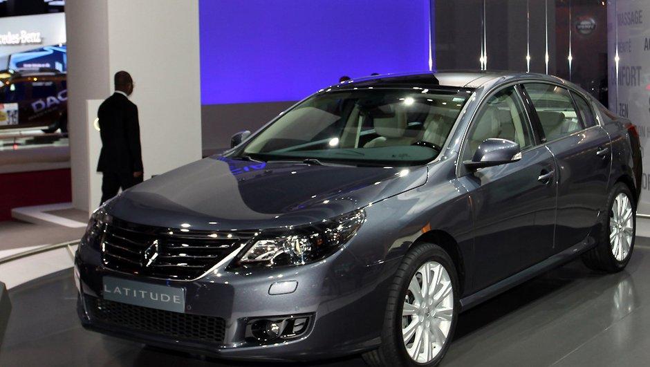 Mondial de l'Auto 2010 : La Renault Latitude vise le haut de gamme