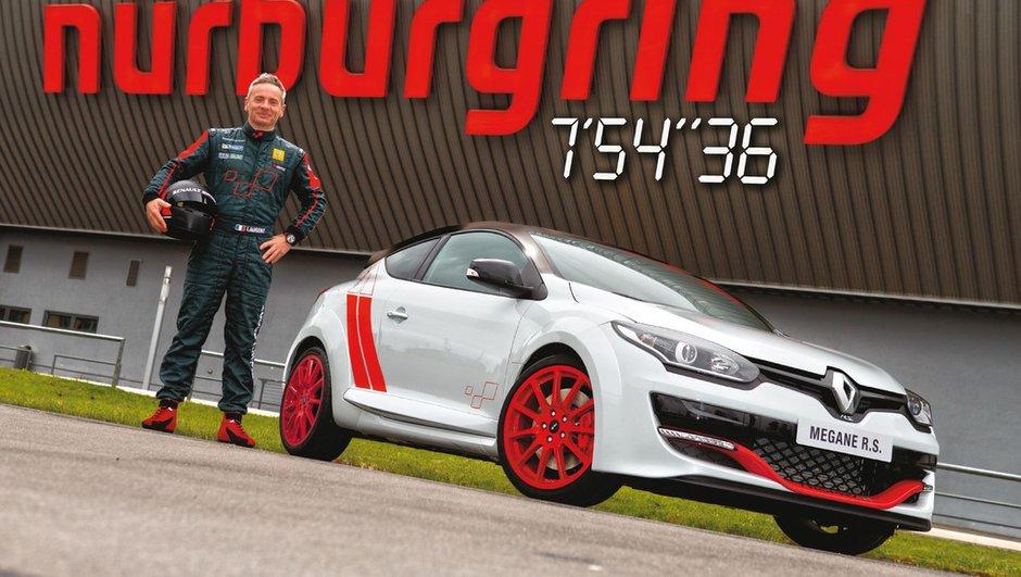 Renault Mégane R.S. 275 Trophy-R 2014 : le record du Nürburgring en images et vidéo