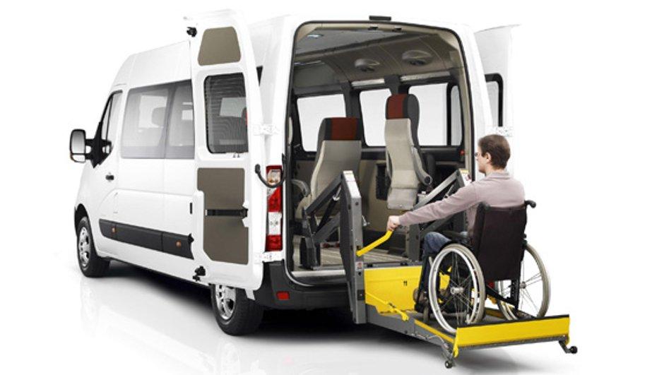 Nouveau Renault Master 2010 : version pour personnes à mobilité réduite