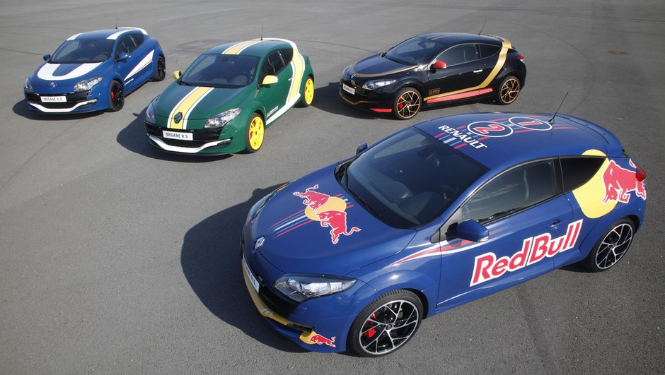 Photo collector : Des Renault Mégane RS aux couleurs de la F1