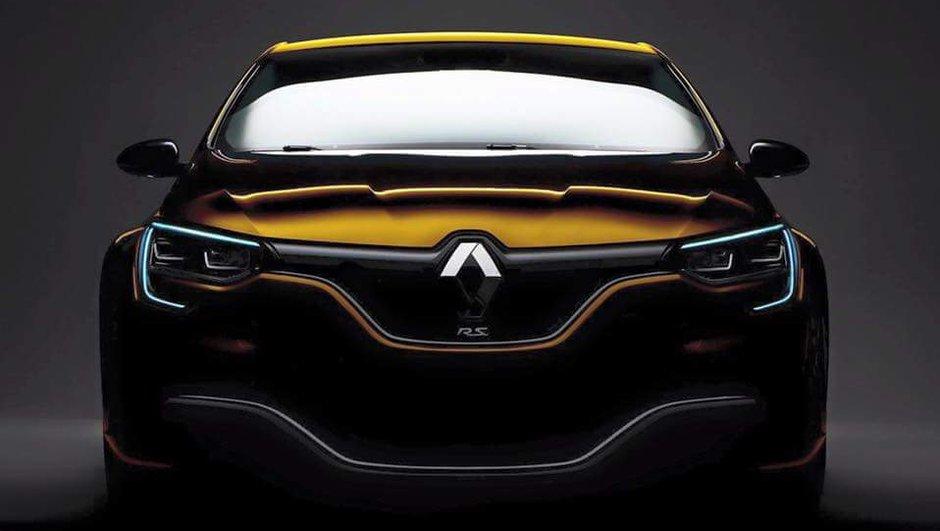 Design : Est-ce la future Renault Mégane R.S. 2016 ?