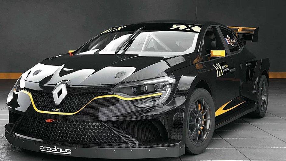 Rallycross 2018 : Guerlain Chicherit s'engage en Renault Megane RX Prodrive