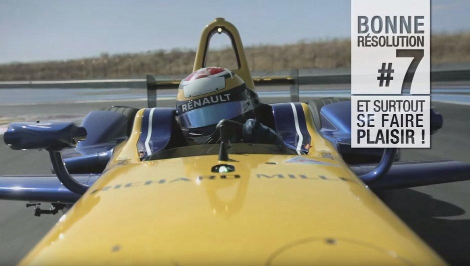 Insolite : Renault présente ses résolutions pour 2016