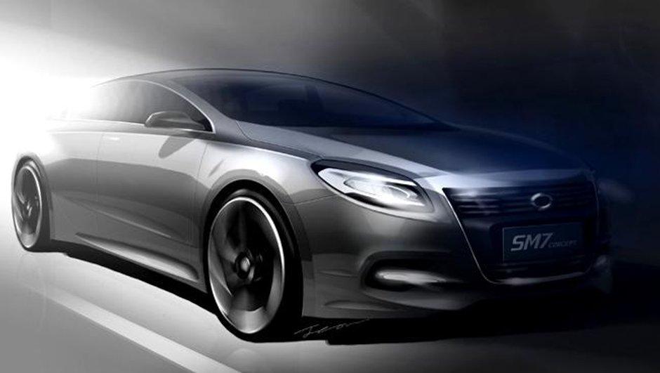 Renault-Samsung SM7 : la genération 2011 au Salon de Séoul