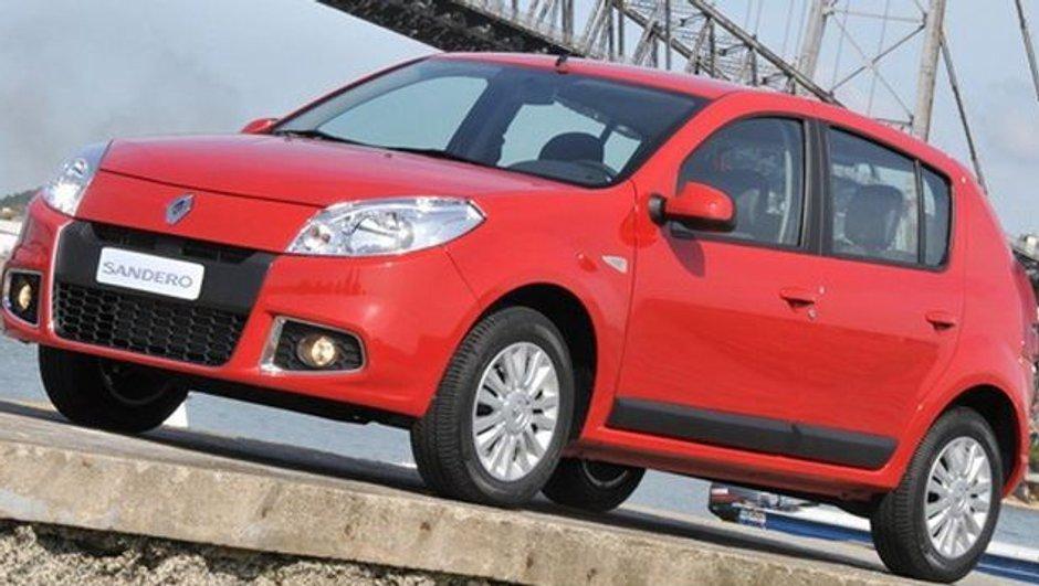 La nouvelle Dacia Sandero officielle ! En Amérique du Sud....