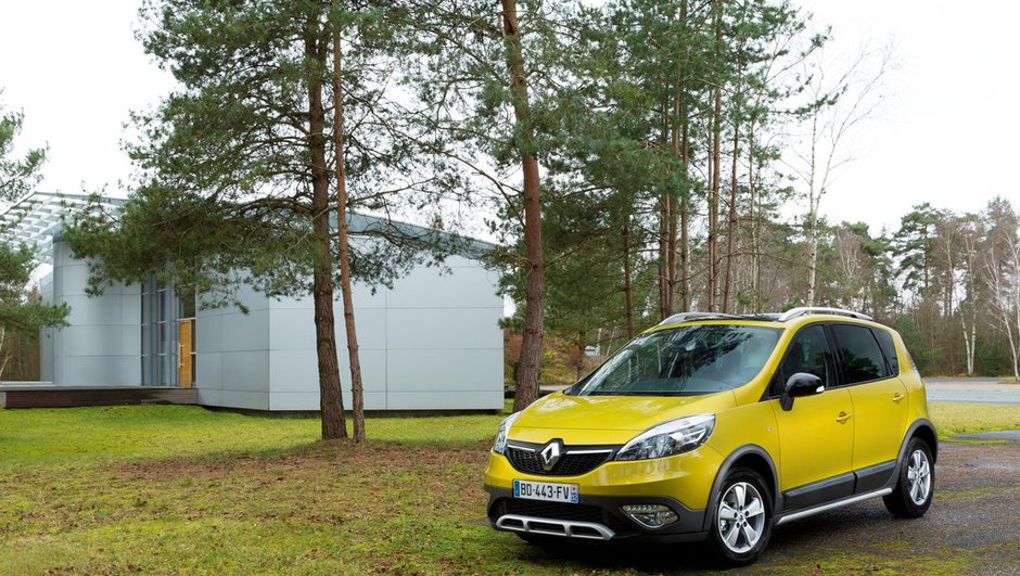 Salon de Genève 2013 : Renault Scénic restylé et baroudeur XMOD