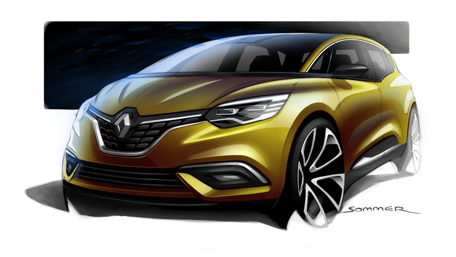 Le futur Renault Grand Scénic IV sera dévoilé le 24 mai 2016