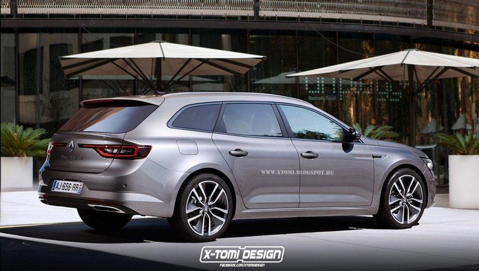Une Renault Talisman revisitée par X-Tomi