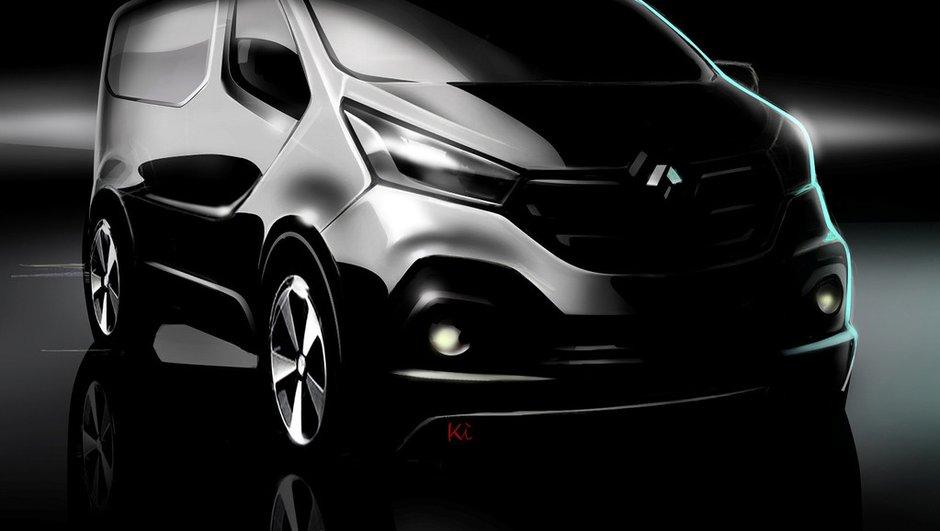 Futur Renault Trafic 2014 : une première image officielle