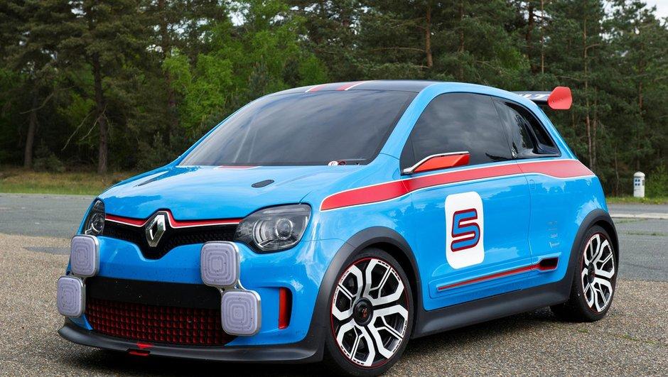Renault Twin'Run Concept 2013 : la petite bombe à Monaco