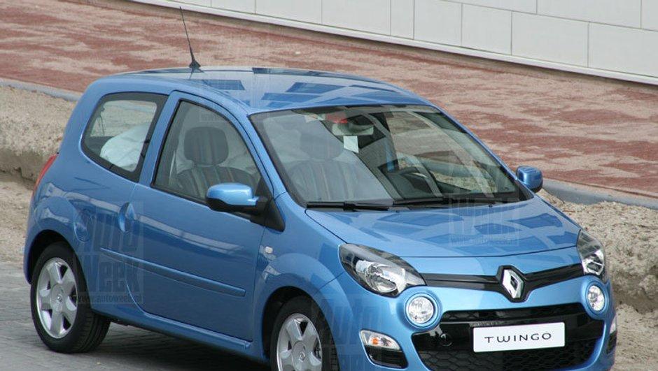 Nouvelle Renault Twingo 2011 : voici les premières photos