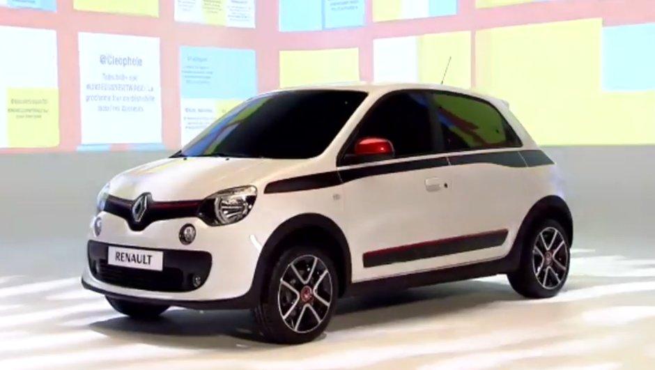 Renault Twingo 2014 : voici les toutes premières images officielles