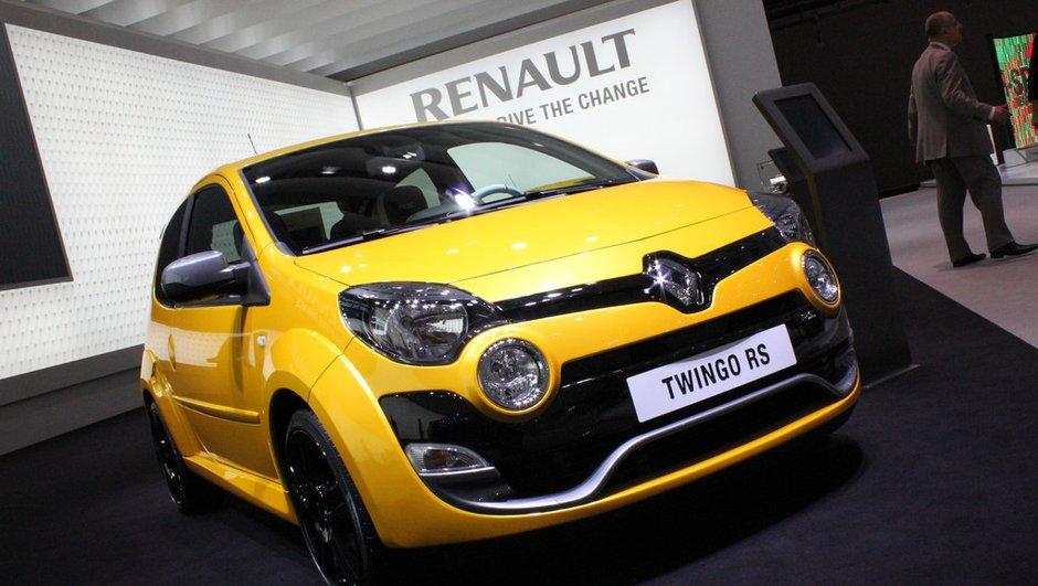 Salon de Francfort 2011 : Renault Twingo restylée, bonne bouille