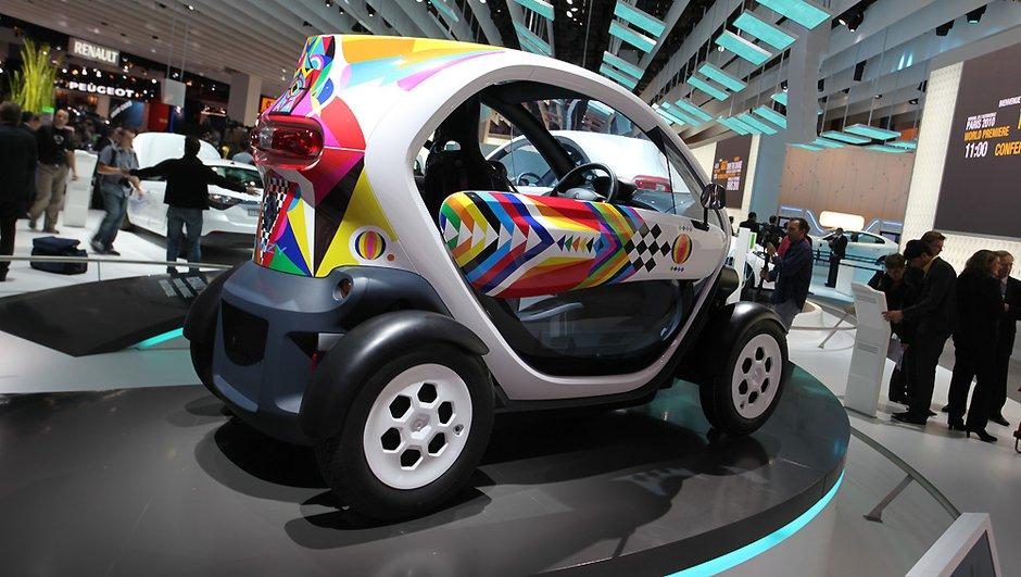 Mondial de l'Auto 2010 : Renault Twizy, la pépite électrique