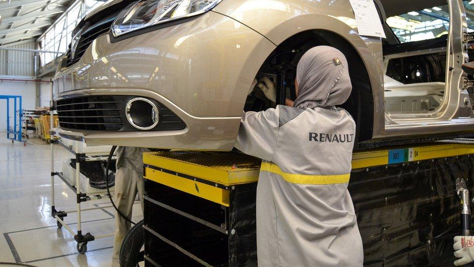 Une nouvelle usine Renault inaugurée en Algérie pour produire la Symbol
