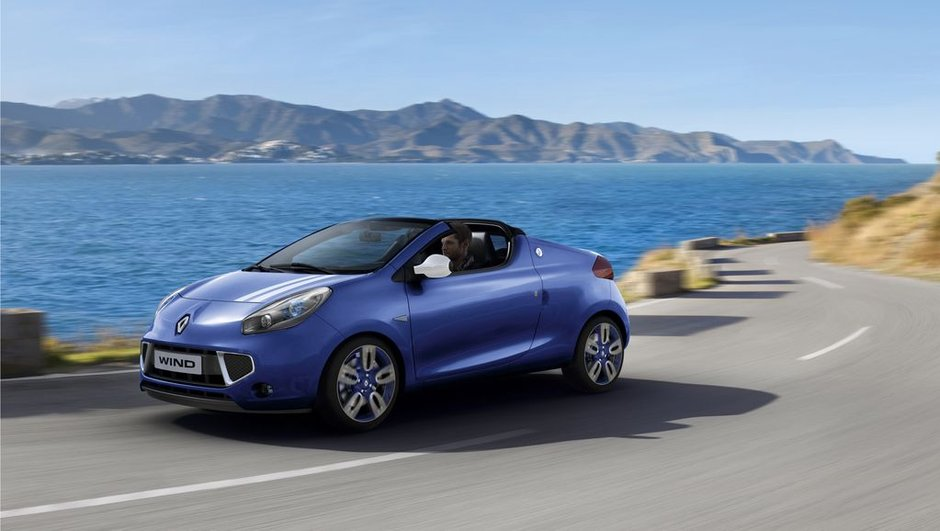 La Renault Wind est un flop, bientôt le clap de fin ?